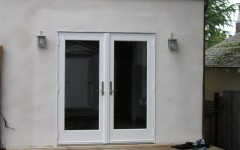 Before & After: French Doors