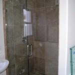BATHROOM REMODEL GLASS DOOR FINAL