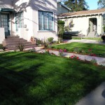 FRONT WALKWAY AND RE-SOD FINAL